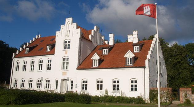Herrenhaus von Rittergut Streu auf der Insel Rügen